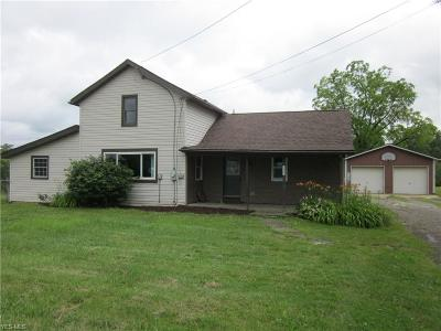 Single Family Home For Sale: 2688 State Route 225