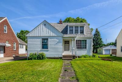 Stark County Single Family Home For Sale: 3723 12th Street