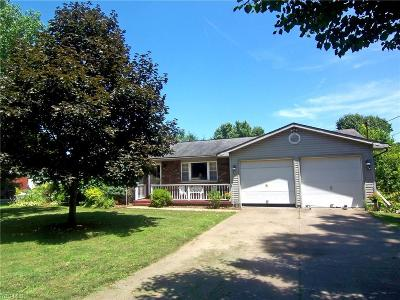 Belpre Single Family Home Active Under Contract: 1498 State Route 339