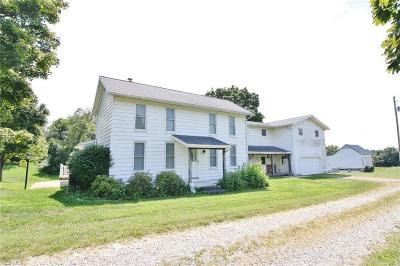 Single Family Home For Sale: 1745 Norwich Valley Road