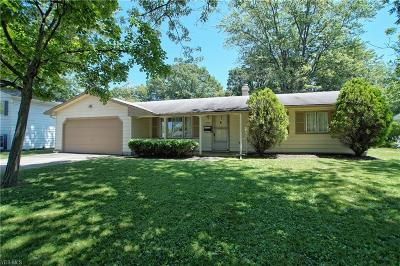 Mentor Single Family Home For Sale: 6361 Cambridge Park Drive