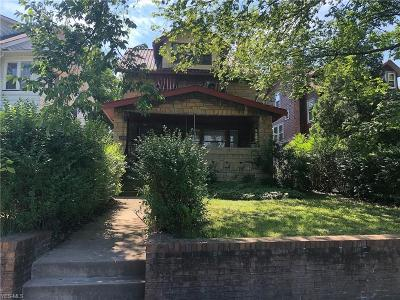 Cleveland Single Family Home For Sale: 793 East Boulevard