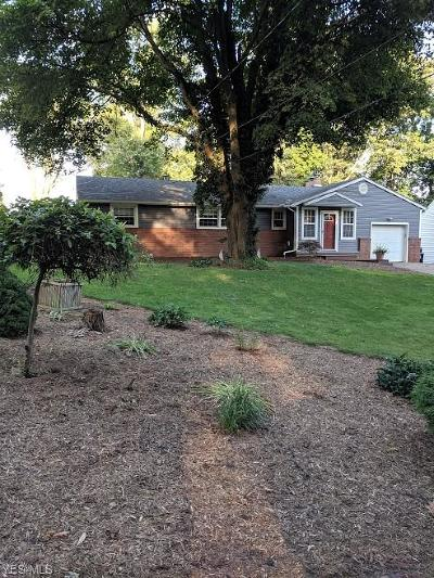 Canton Single Family Home For Sale: 4922 Meadowlane Drive