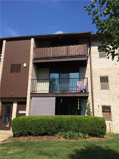 Middleburg Heights Condo/Townhouse For Sale: 16350 Heather Lane #T304