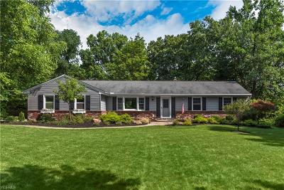 Brecksville Single Family Home Active Under Contract: 9005 Whitewood Road