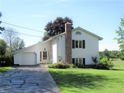Ashtabula Single Family Home For Sale: 3321 Austinburg Road