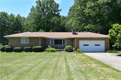 Ashtabula Single Family Home Active Under Contract: 3301 Center Road