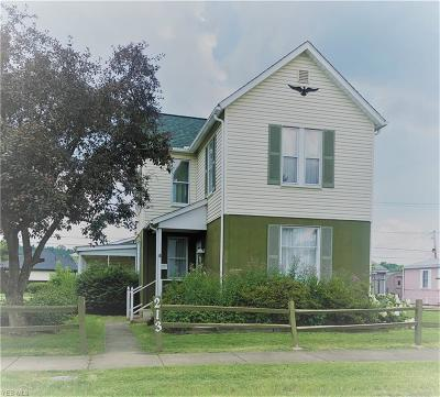 Byesville Single Family Home Active Under Contract: 213 N 7th Street