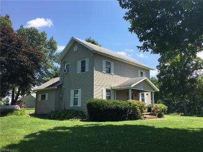 Guernsey County Single Family Home For Sale: 8315 Euga Road