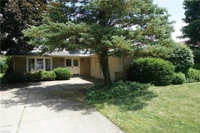 Rocky River Single Family Home Active Under Contract: 3465 Chrisfield Drive