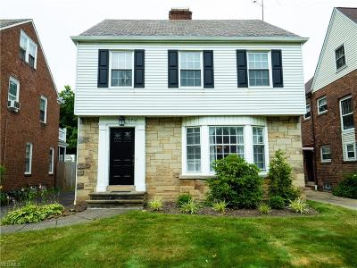 Shaker Heights Single Family Home For Sale: 3710 Normandy Road