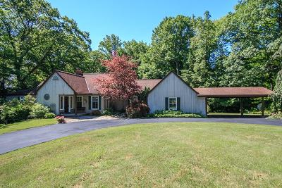 Willoughby Hills Single Family Home For Sale: 36300 Chardon Road