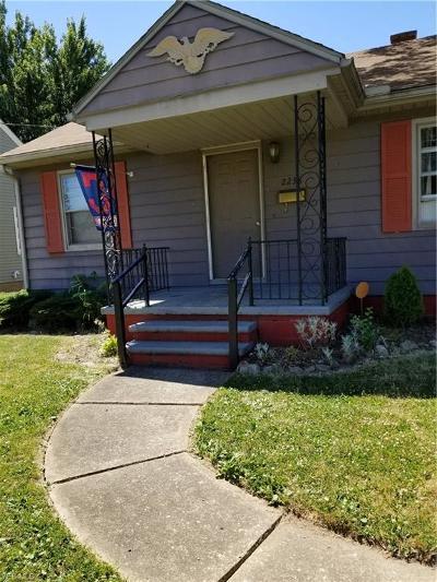 Lorain County Single Family Home For Sale: 2238 Hamilton Avenue