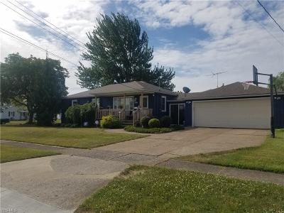 Lorain County Single Family Home For Sale: 1431 W 29th Street