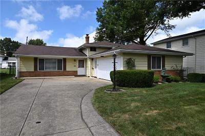 Fairview Park Single Family Home Active Under Contract: 22310 Marleen Drive