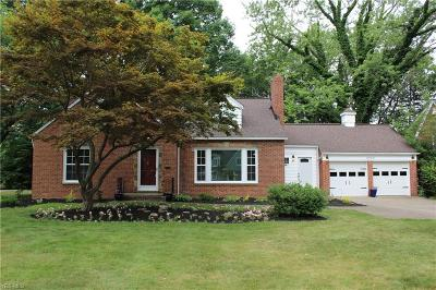 Rocky River Single Family Home For Sale: 2840 Wagar Road