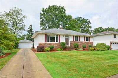 Single Family Home For Sale: 7310 Ames Road