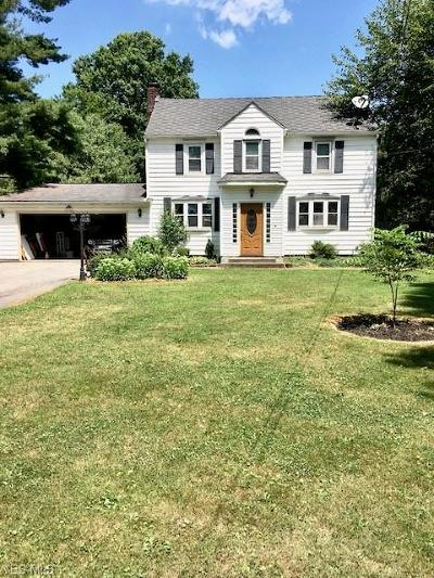 Single Family Home Active Under Contract: 27080 Sprague Road