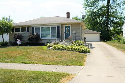 Elyria Single Family Home For Sale: 306 Beebe Avenue