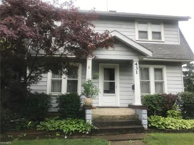 Medina County Single Family Home For Sale: 431 S Prospect Street