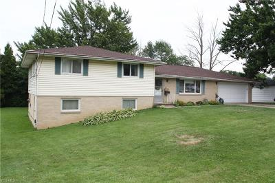 Elyria Single Family Home Active Under Contract: 735 Abbe Road