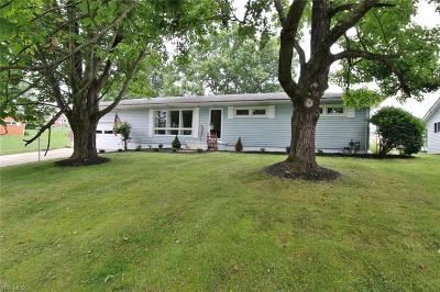 Zanesville Single Family Home For Sale: 3030 Venture