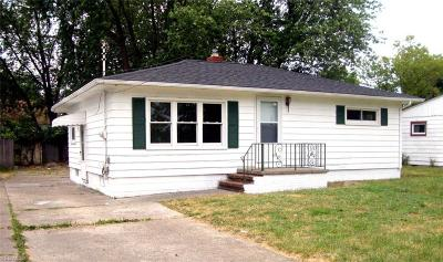 Lorain County Single Family Home For Sale: 1334 Maryland Avenue