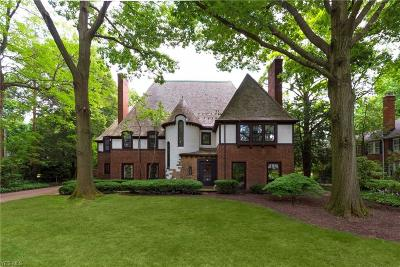 Shaker Heights Single Family Home For Sale: 2963 Courtland Boulevard