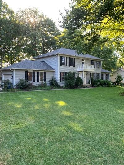 Macedonia Single Family Home Active Under Contract: 8700 Wiltshire Drive