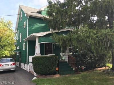 Cleveland Single Family Home Active Under Contract: 13709 Caine Avenue