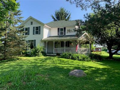Single Family Home For Auction: 9727 Williams Road