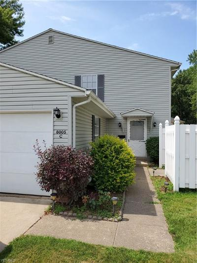 Mentor Condo/Townhouse For Sale: 8005 Independence Drive #C