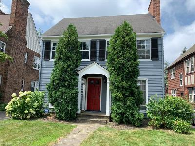 Shaker Heights Single Family Home For Sale: 3702 Normandy Road