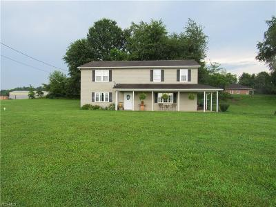 Muskingum County Single Family Home Active Under Contract: 12224 Bottom Rd