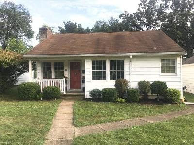Zanesville Single Family Home Active Under Contract: 436 Harding Road