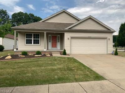 Twinsburg Single Family Home Active Under Contract: 1585 Silver Oak Circle