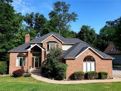 Broadview Heights Single Family Home Active Under Contract: 1271 Emerald Creek Drive