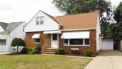 Single Family Home For Sale: 3797 Wallingford Road
