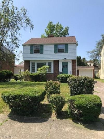 University Heights Single Family Home Active Under Contract: 3934 Washington Boulevard