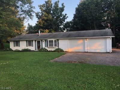 Muskingum County Single Family Home Active Under Contract: 9490 W Pike