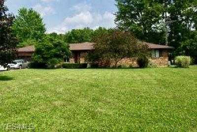 Warren Single Family Home Active Under Contract: 6923 Palmyra Road