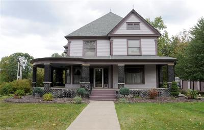 Canfield Single Family Home For Sale: 201 S Broad Street
