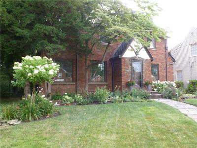 Rocky River Single Family Home For Sale: 641 Wagar Road