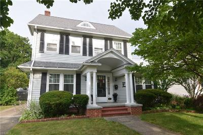 Lorain County Single Family Home For Sale: 1027 Mildred Avenue