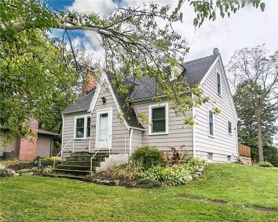 Macedonia Single Family Home For Sale: 9492 N Bedford Road