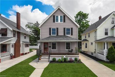 Lakewood Single Family Home Active Under Contract: 1515 Lakeland Avenue