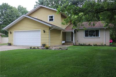 North Royalton Single Family Home Active Under Contract: 6223 Hilary Drive