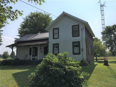 Andover Single Family Home For Sale: 2227 Pymatuning Lake Road
