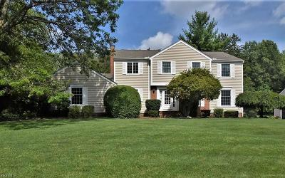 Chagrin Falls Single Family Home For Sale: 115 Southwyck Drive