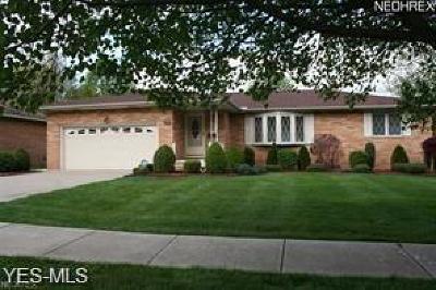 Seven Hills Single Family Home For Sale: 6172 Cabrini Lane